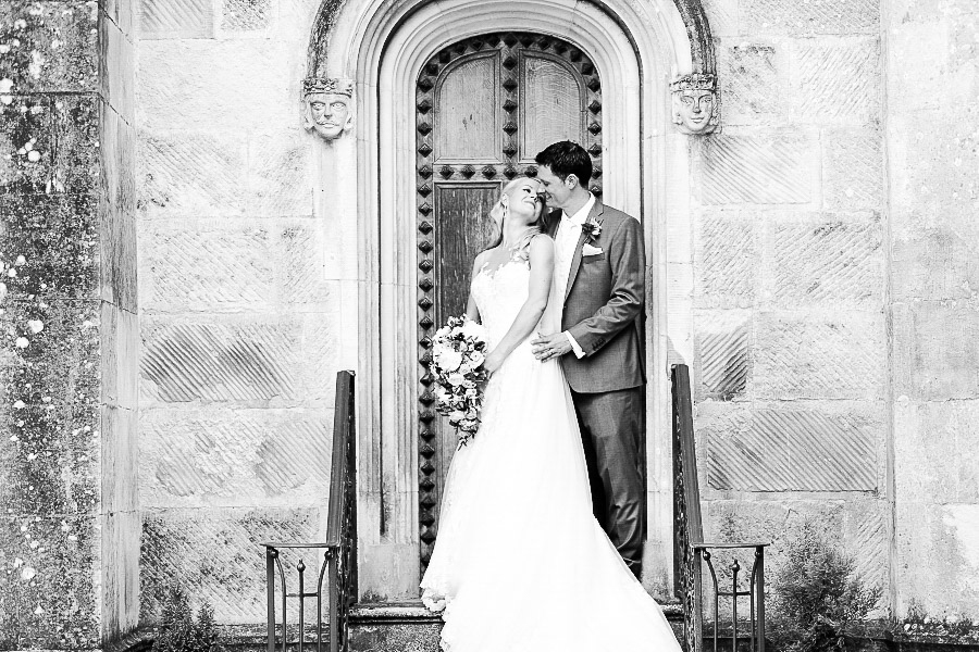 Highcliffe Castle Dorset wedding photography